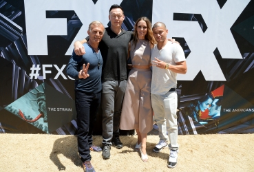 SAN DIEGO, CA - JULY 21: Actors Richard Sammel, Kevin Durand, Ruta Gedmintas and Miguel Gomez attend FXhibition during Comic-Con International 2016 at Hilton Bayfront on July 21, 2016 in San Diego, California. (Photo by Michael Kovac/Getty Images for FX)
